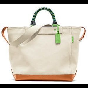 Coach Bleeker Giant Structured Tote
